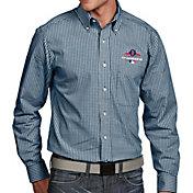 Antigua Men's 2018 World Series Champions Boston Red Sox Navy Associate Button-Up Long Sleeve Shirt