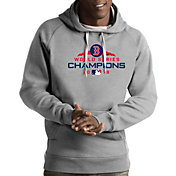 Antigua Men's 2018 World Series Champions Boston Red Sox Grey Victory Pullover