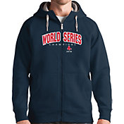 Antigua Men's 2018 World Series Champions Boston Red Sox Navy Victory Full-Zip Hoodie