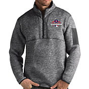Antigua Men's 2018 World Series Champions Boston Red Sox Grey Fortune Half-Zip Pullover