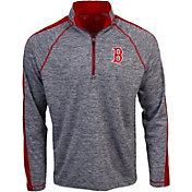 Antigua Men's Boston Red Sox Advantage Quarter-Zip Pullover