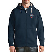 Antigua Men's 2018 World Series Boston Red Sox Navy Victory Full-Zip Sweatshirt