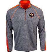 Antigua Men's Houston Astros Advantage Quarter-Zip Pullover