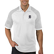 Antigua Men's Detroit Tigers Engage White Polo