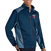 Antigua Men's Minnesota Twins Revolve Full-Zip Jacket