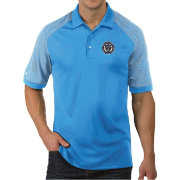 Antigua Men's Philadelphia Union Engage Blue Polo