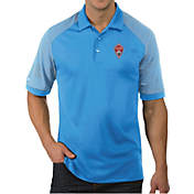 release date c5a28 c5c63 Antigua Mens Colorado Rapids Engage Blue Polo
