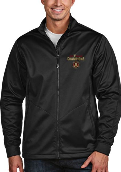0f87c08c13b0 Antigua Men s 2018 MLS Cup Champions Atlanta United Golf Full-Zip ...