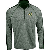 Antigua Men's Milwaukee Bucks Advantage Quarter-Zip Pullover