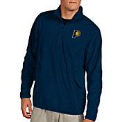Antigua Men's Indiana Pacers Quarter-Zip Navy Ice Pullover