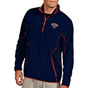 Antigua Men's New Orleans Pelicans Quarter-Zip Navy Ice Pullover