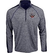 Antigua Men's New Orleans Pelicans Advantage Quarter-Zip Pullover