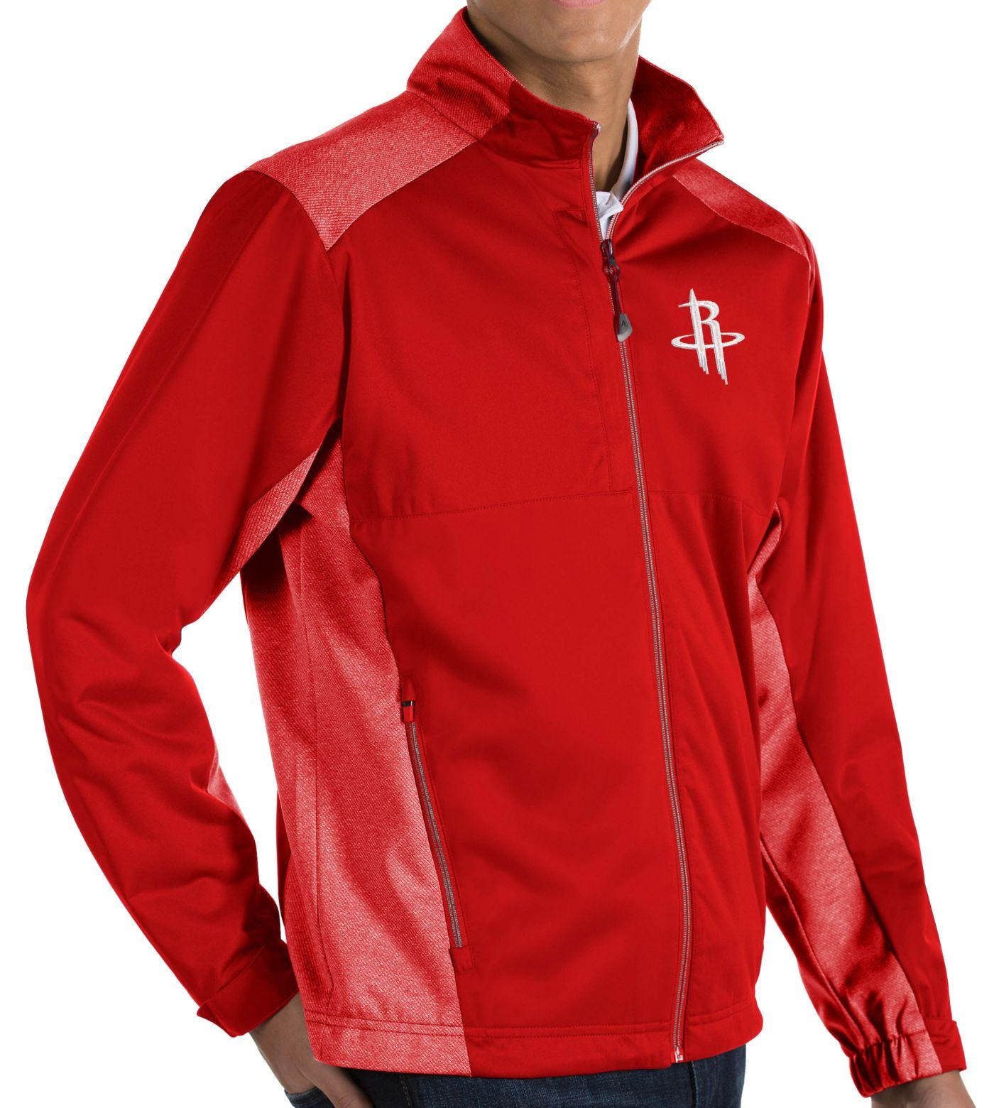 Antigua Men's Houston Rockets Revolve Full-Zip Jacket