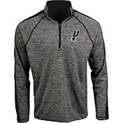 Antigua Men's San Antonio Spurs Advantage Quarter-Zip Pullover