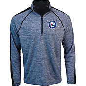 Antigua Men's Philadelphia 76ers Advantage Quarter-Zip Pullover