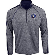 Antigua Men's Minnesota Timberwolves Advantage Quarter-Zip Pullover