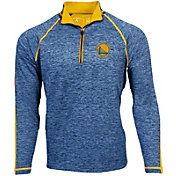 Antigua Men's Golden State Warriors Advantage Quarter-Zip Pullover