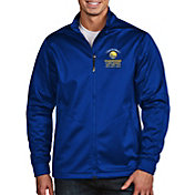 Antigua Men's 2018 NBA Champions Golden State Warriors Royal Golf Jacket