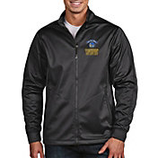 Antigua Men's 2018 NBA Champions Golden State Warriors Black Golf Jacket
