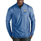 Antigua Men's 2018 NBA Champions Golden State Warriors Tempo Royal Quarter-Zip Pullover