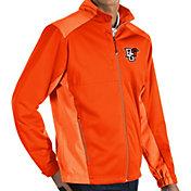 Antigua Men's Bowling Green Falcons Orange Revolve Full-Zip Jacket