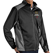 Antigua Men's 2018-19 National Championship Bound Alabama Crimson Tide Revolve Full-Zip Black Jacket