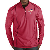 Antigua Men's 2018 Capital One Orange Bowl Bound Alabama Crimson Tide Crimson Tempo Half-Zip Pullover