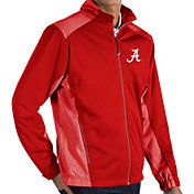 Antigua Men's Alabama Crimson Tide Crimson Revolve Full-Zip Jacket
