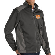 Antigua Men's Auburn Tigers Grey Revolve Full-Zip Jacket