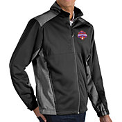 Antigua Men's 2018 National Champions Clemson Tigers Revolve Full-Zip Black Jacket