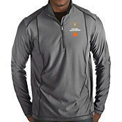 Antigua Men's 2018-19 National Championship Bound Clemson Tigers Grey Tempo Half-Zip Pullover