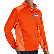 Antigua Men's 2018 National Champions Clemson Tigers Orange Revolve Full-Zip Jacket