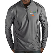 Antigua Men's 2018 Goodyear Cotton Bowl Bound Clemson Tigers Grey Tempo Half-Zip Pullover