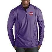 Antigua Men's 2018 National Champions Clemson Tigers Regalia Tempo Half-Zip Pullover