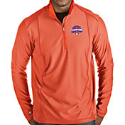 Antigua Men's 2018 National Champions Clemson Tigers Orange Tempo Half-Zip Pullover