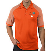 Antigua Men's 2018 Goodyear Cotton Bowl Bound Clemson Tigers Orange Engage Polo