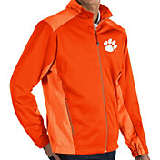 Antigua Men's Clemson Tigers Orange Revolve Full-Zip Jacket