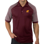 Antigua Men's Central Michigan Chippewas Maroon Engage Performance Polo