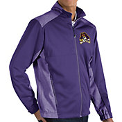Antigua Men's East Carolina Pirates Purple Revolve Full-Zip Jacket