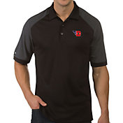 Antigua Men's Dayton Flyers Engage Performance Black Polo