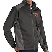 Antigua Men's Dayton Flyers Grey Revolve Full-Zip Jacket