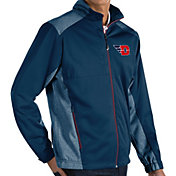 Antigua Men's Dayton Flyers Blue Revolve Full-Zip Jacket