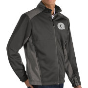 Antigua Men's Georgetown Hoyas Grey Revolve Full-Zip Jacket
