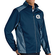 Antigua Men's Georgetown Hoyas Blue Revolve Full-Zip Jacket