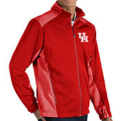Antigua Men's Houston Cougars Red Revolve Full-Zip Jacket