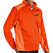 Antigua Men's Oklahoma State Cowboys Orange Revolve Full-Zip Jacket