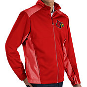 Antigua Men's Louisville Cardinals Cardinal Red Revolve Full-Zip Jacket