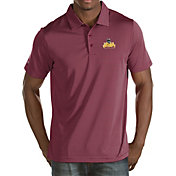 Antigua Women's Loyola Chicago Ramblers Pique X-tra Lite White Polo