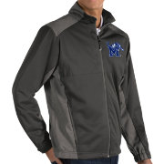 Antigua Men's Memphis Tigers Grey Revolve Full-Zip Jacket