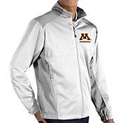 Antigua Men's Minnesota Golden Gophers  Revolve Full-Zip Jacket